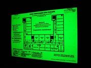 Изготовление планов эвакуации,  знаков безопасности