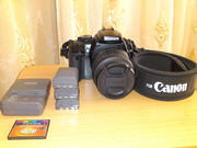 Зеркальный цифровой фотоаппарат Canon Rebel XTi Kit 18-55