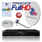 Установка спутниковых антенн. НТВ+,  Триколор ТВ.