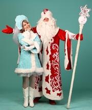 снегурочка и Дед мороз на дом