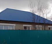 частный дом в с.Заречное Костанайского района газовое отопление.