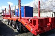 Трал высокорамный вездеход 50 тонн для севера
