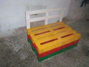 Садовый диван (мебель из паллет)