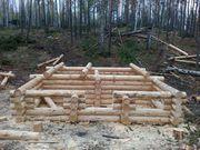 Сруб для дома. Башкирский лес. Любые формы и размеры.