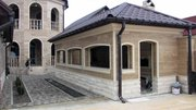 Отделка фасадов травертином, гранитом или мрамором