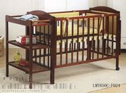 Кроватка,  0-3 года,  балдахин,  3 матраса,  люлька. Все новое.